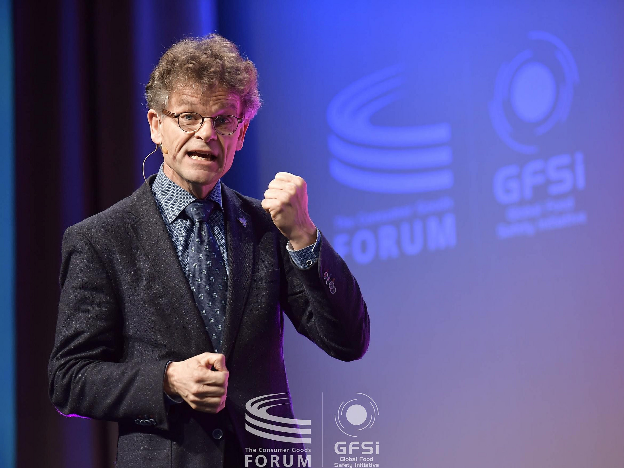 Gert Jan Hofstede at GFSC 2017 Houston